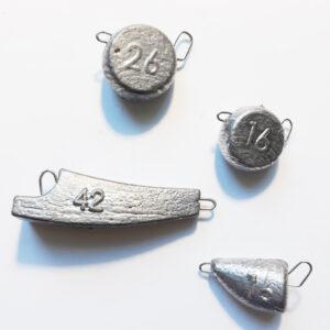 Скобы для литья грузил